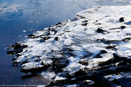 Daily Image - 6 January 2012 - Ice and Tide - Bear River
